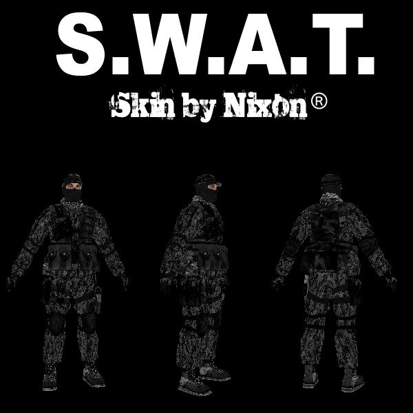 SWAT Skin - GTA SAMP MODS - Каталог файлов - Nixon ru